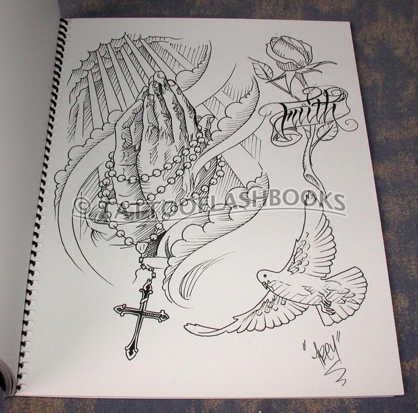 Religious Tattoo Sketch