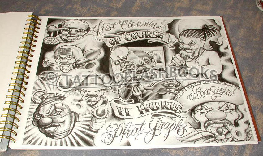Tattooflashbookscom Miki Vialetto Boog From The