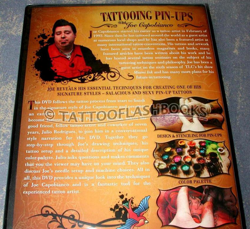 Joe capobianco tattooing pin ups for How to tattoo dvd