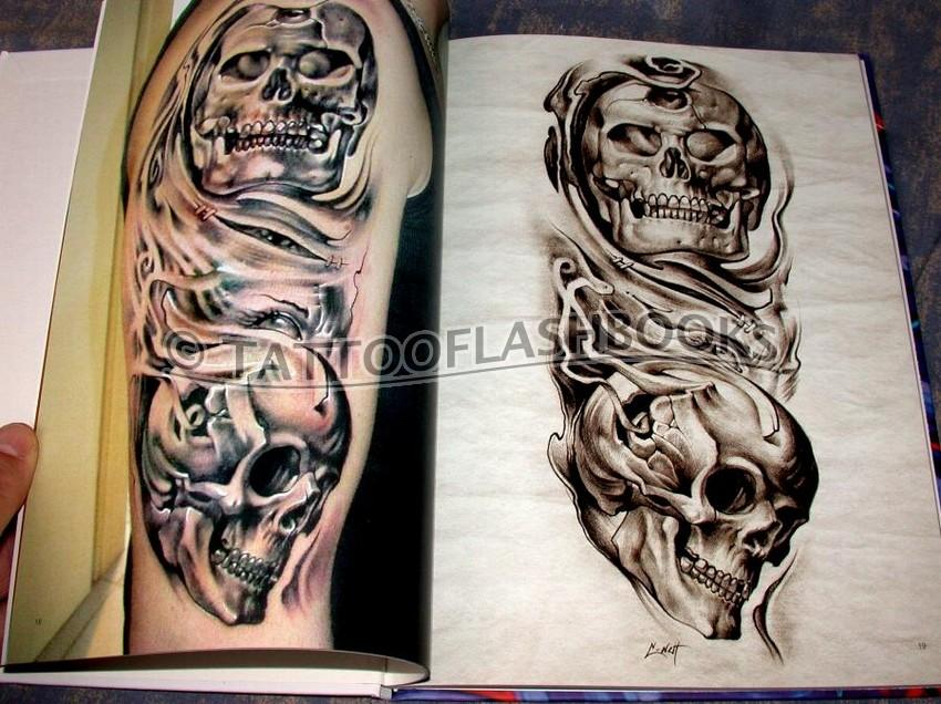 Tattooflashbooks Com Sergey C Nut Biomechanik Tattoo Sketchbook