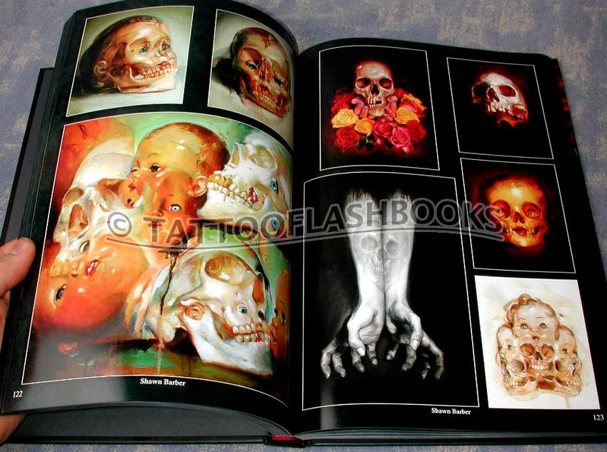 tattooflashbookscom mike devries cranial visions