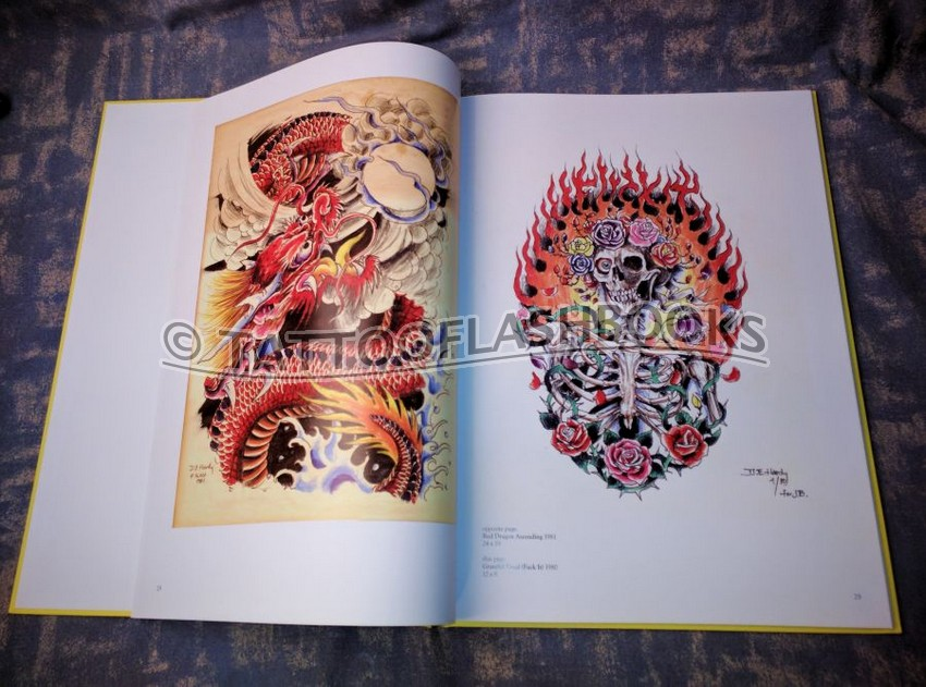tattooflashbooks com - don ed hardy