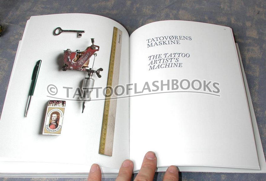 Danish tattooing tattoo flash machine gun kit book ebay for Tattoo ole copenhagen