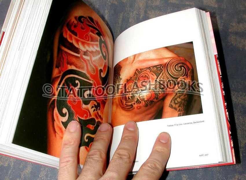 "tattooflashbooks.com - Henk Schiffmacher AKA ""Hanky Panky"" - 1000 Tattoos"
