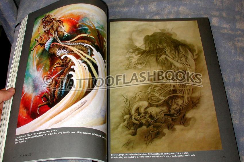 shige tattoo book