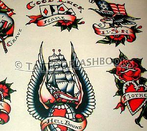 Tahiti felix lynch electric for Traditional americana tattoos