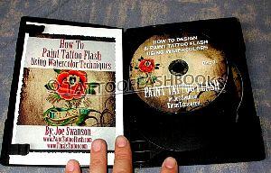 Joe swanson paint tattoo flash 2 for How to tattoo dvd