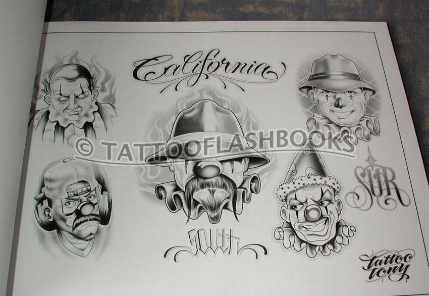 LOWRIDER Tattoo Flash Chicano Jose Lopez Gangster Book eBay